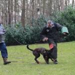 1 maart 2014, Training met PHDC de Sluus