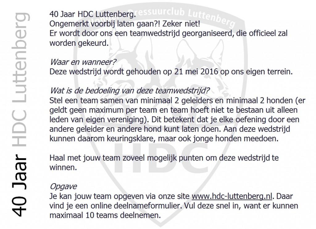 Uitnodiging 40 jaar HDC 20160124